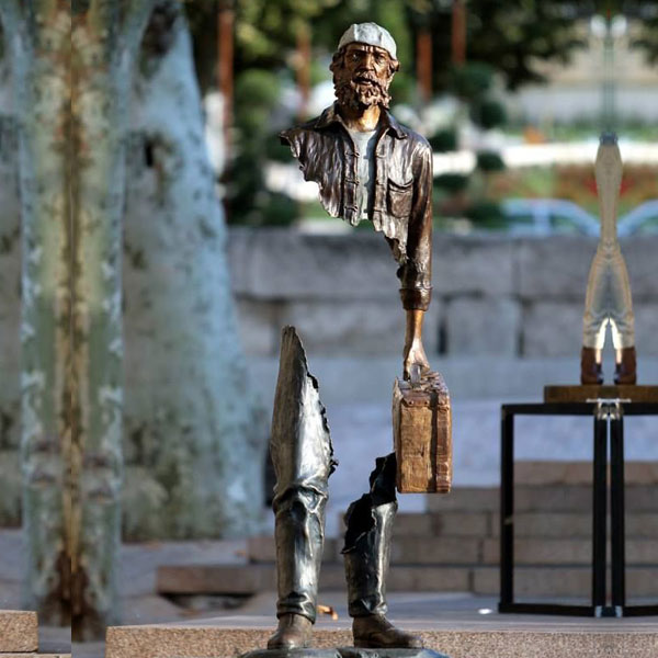 Garden art sculpture from Sculptor bruno catalano